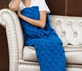 Knitted Royal Blue M..