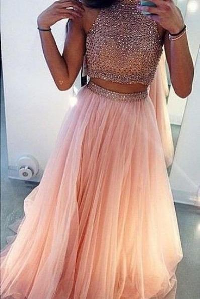 Two Piece Prom Dresses 8th grade prom Dress Sweet 16 Dress